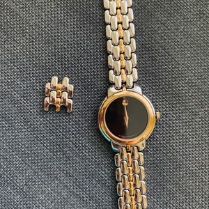 Movado Gold and Stainless Women's Watch